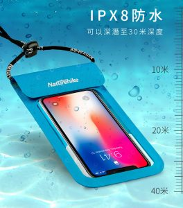 Naturehike PX8級 手機防水袋