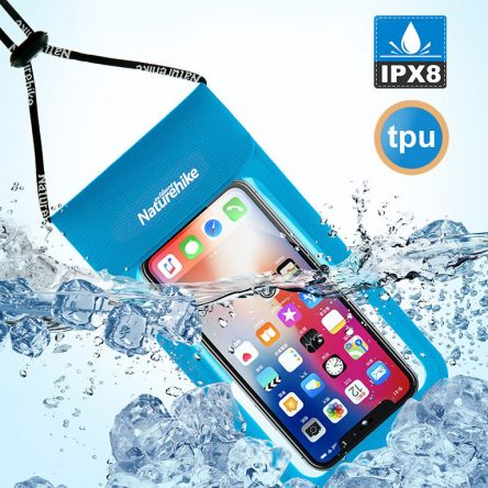 Naturehike Outdoor Swimming Waterproof Phone Bag TPU Lightweight Touch Screen Dry Bag