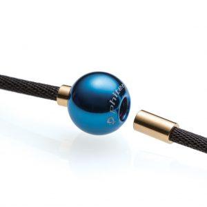 Phiten X100 Titanium Necklace Mirror Ball