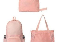 ECO Portable foldable 2 in 1 backpack & shopping bag
