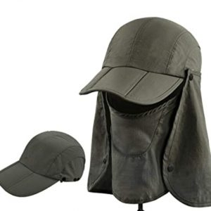 Sun hat With Head Net Mesh Face Protection Sun Flap